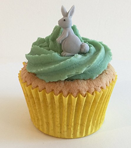 6 Lovely Sugar Bunnies: Grey from Holly Cupcakes