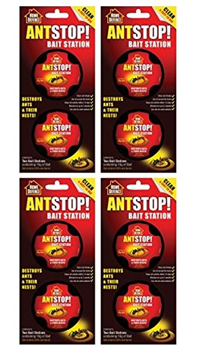 4 x Ant Stop! Bait Station Home Defence Ant Stopper from Home Defence