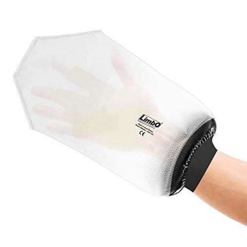 LimbO Waterproof Protectors Dressing Cover - Adult Hand Shower Cover (MITT: 22-25 cm Forearm Circ.) from LimbO Waterproof Protectors
