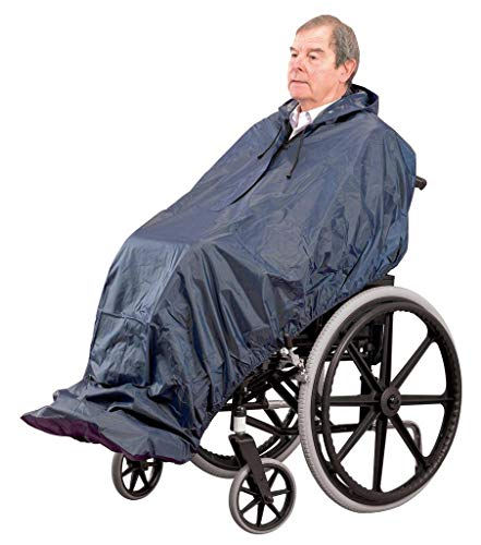 Homecraft Long Length Sleeveless Wheelchair Mac (Eligible for VAT relief in the UK) from Homecraft