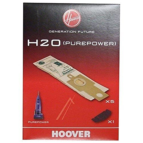 Hoover Genuine H20 Purepower Upright Replacement Bags plus 1 Filters from Hoover