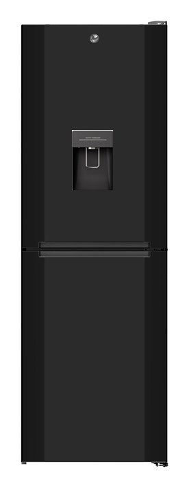 Hoover H1826MNB5BWK No Frost Fridge Freezer - Black from Hoover
