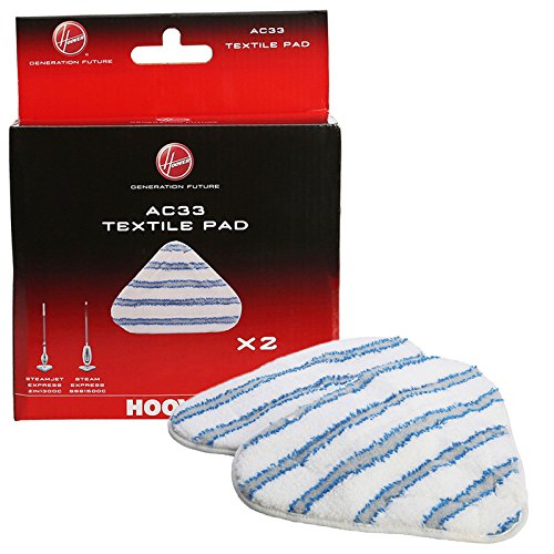 Hoover SteamJet AC33 Type Textile Microfibre Steam Mop Pads-35601658, 1 from Hoover