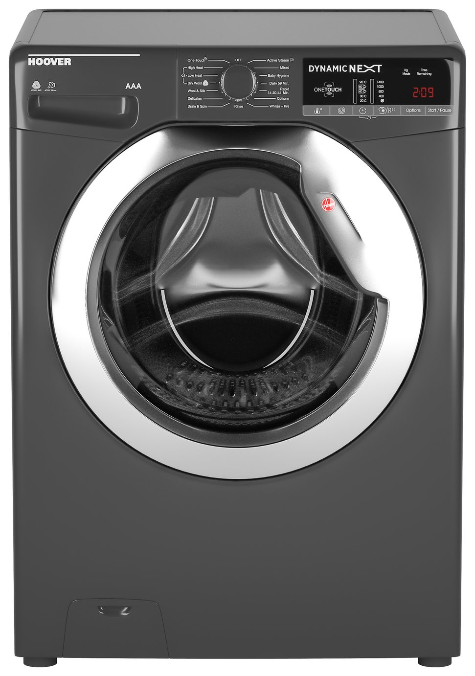Hoover WDXOA485CR 8KG 5KG 1400 Spin Washer Dryer - Graphite from Hoover