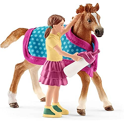 Schleich 42361 - Horse Club Foal with blanket from Schleich
