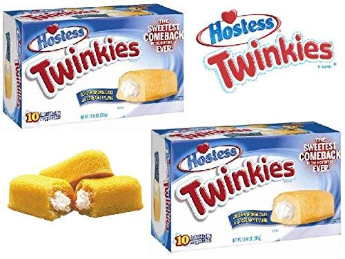 Twinkies Twin Pack - 20 Cakes from Hostess