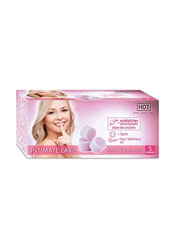 HOT Intimate Care Soft Tampons - Pack of 5 from Hot