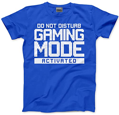 872f8018c76f4b Do Not Disturb Gaming Mode Activated - Mens Unisex T-Shirt - Gamer Console  cod