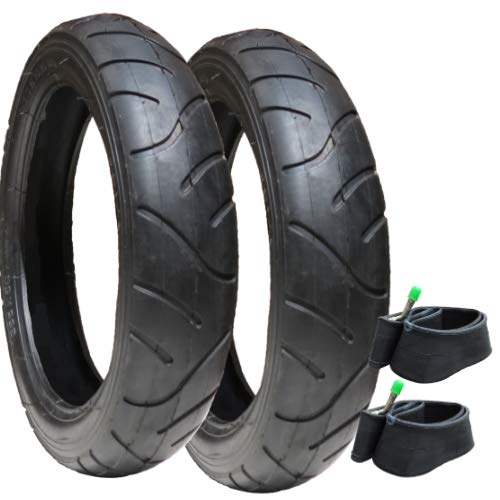 Tyres and Inner Tubes for iCandy - set of 2 - with Slime Protection from Hota