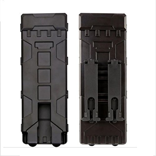 ABS 10 Rounds Tactical Pouch Reload Holder Molle Pouch Magazine Cartridge Holder from Hotour