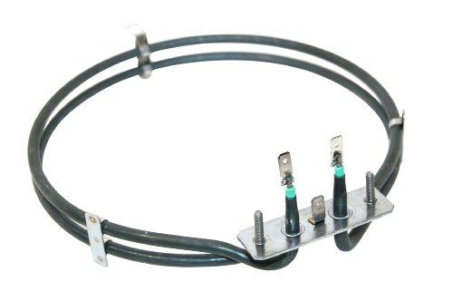 Cooker Fan Oven Element Hotpoint Baumatic Smeg 2600W 2 TURN replaces 610248577 from Hotpoint