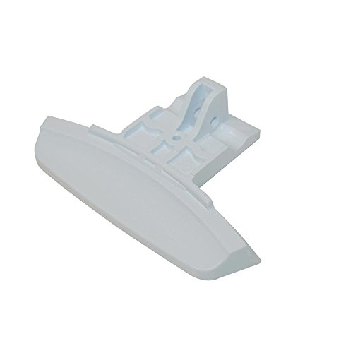 Genuine HOTPOINT WT540/1P White DOOR HANDLE from Hotpoint