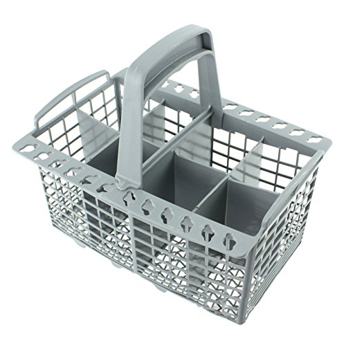 Genuine Hotpoint FDW60G FDW60P FDW60P.1 Dishwasher Cutlery Basket Cage & Handle (8 Compartment) from Hotpoint