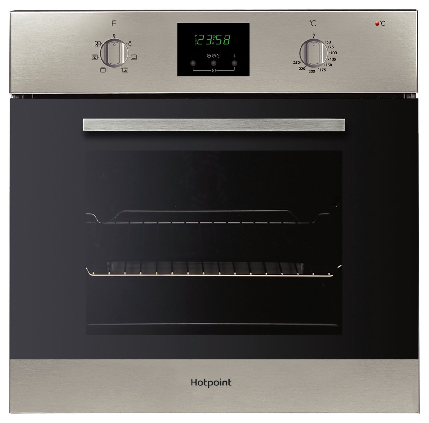 Hotpoint AOY54CIX Built In Single Oven - Silver from Hotpoint