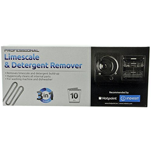Hotpoint Dishwasher Limescale Descaler / Cleaner Sachets (Pack of 10) from Hotpoint