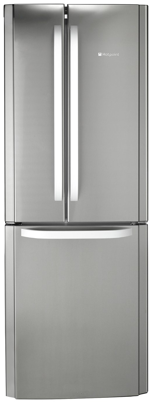 Hotpoint FFU3DX American Fridge Freezer - Stainless Steel from Hotpoint