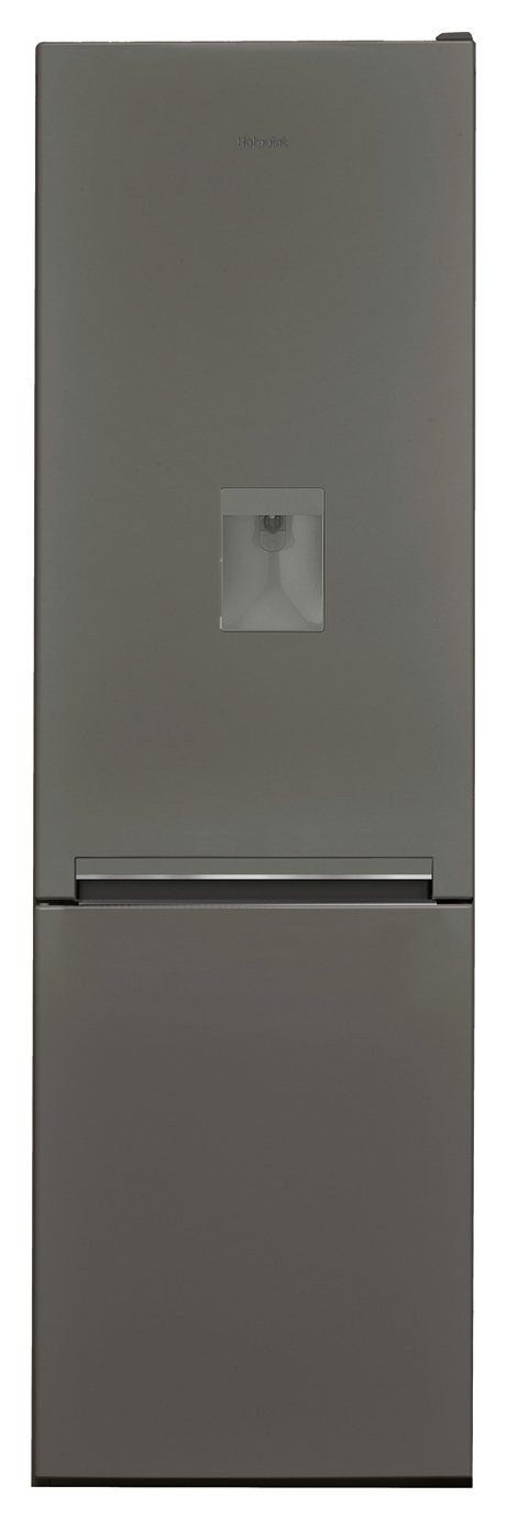 Hotpoint H8A1ESBWTD Low Frost Fridge Freezer - Gun Metal from Hotpoint