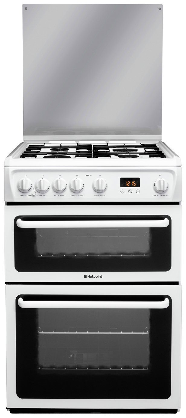 Hotpoint - HAGL60P Freestanding Cooker - White from Hotpoint