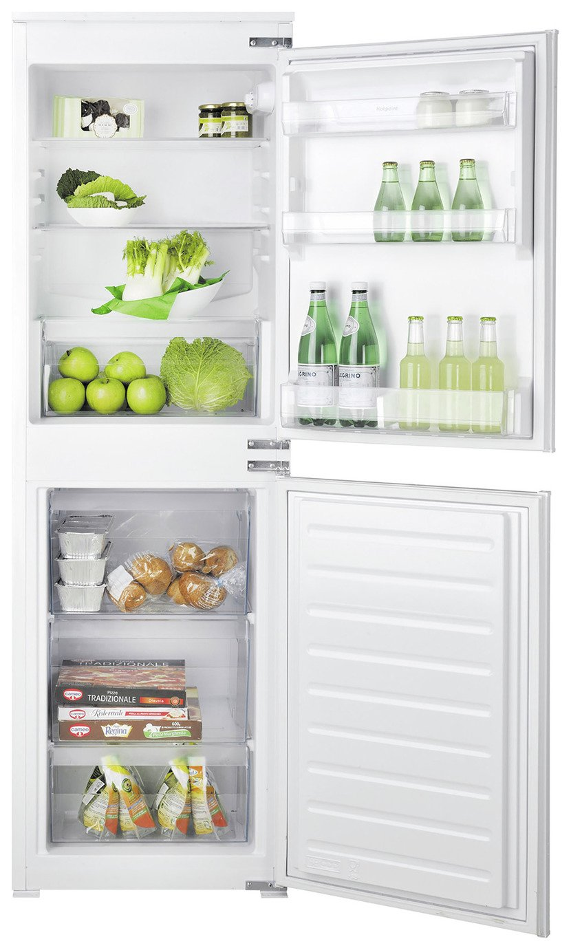 Hotpoint HMCB5050AA Integrated Fridge Freezer - White from Hotpoint