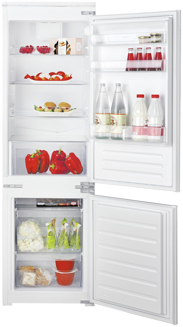 Hotpoint HMCB7030AA Integrated Fridge Freezer - White from Hotpoint
