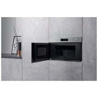Hotpoint MN314IXH Built In Microwave Oven with Grill in St Steel 750W from Hotpoint
