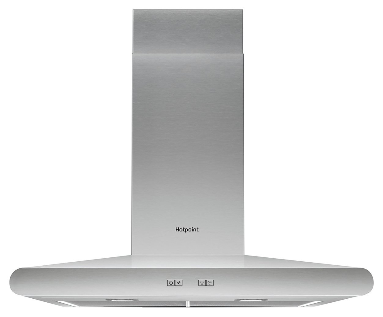 Hotpoint PHC6.7FLBIX 60cm Cooker Hood - Stainless Steel from Hotpoint