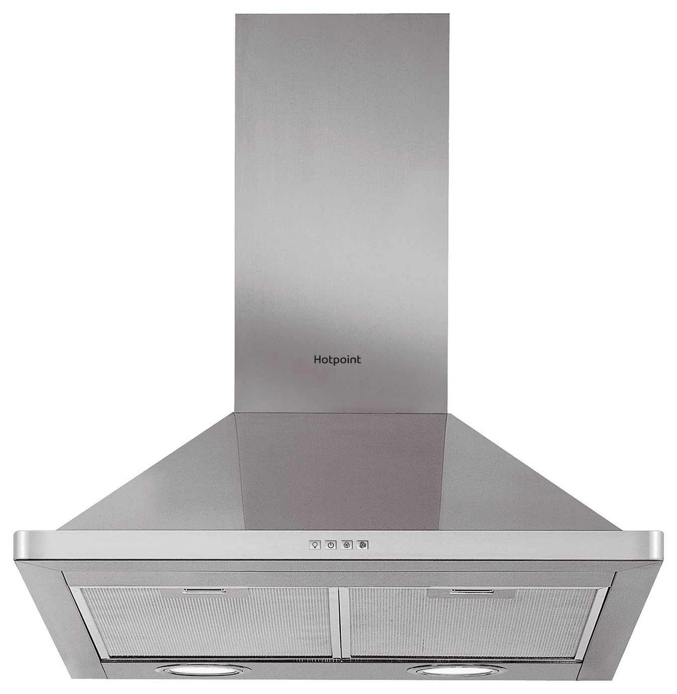 Hotpoint PHPN7.5FLMX 70cm Cooker Hood - Stainless Steel from Hotpoint