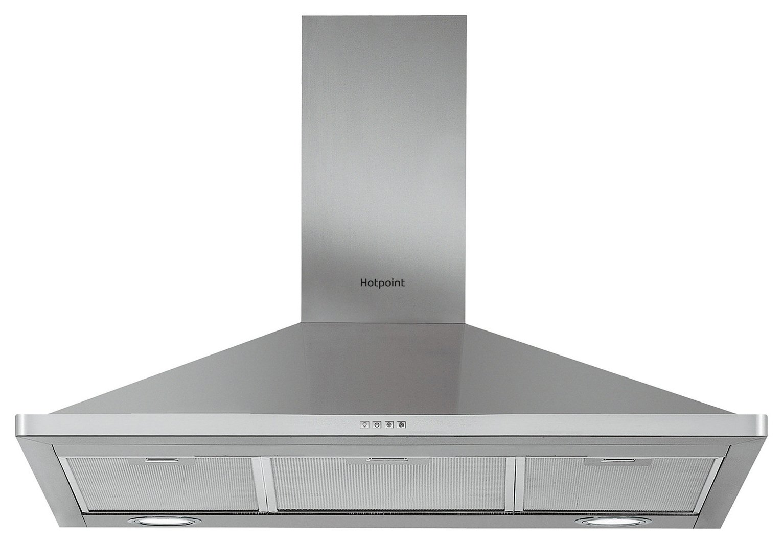 Hotpoint PHPN9.5FLMX 90cm Cooker Hood - Stanless Steel from Hotpoint