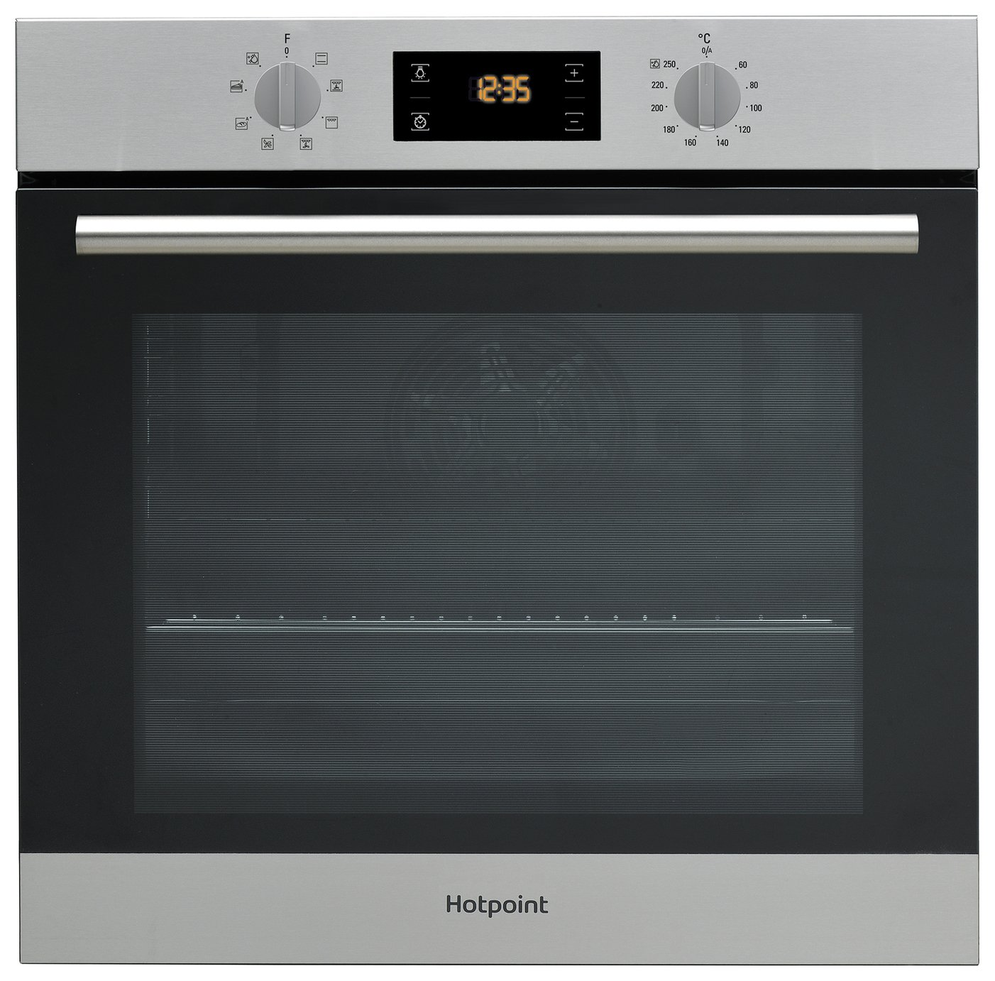 Hotpoint SA2540HIX Built-In Single Oven - Stainless Steel from Hotpoint