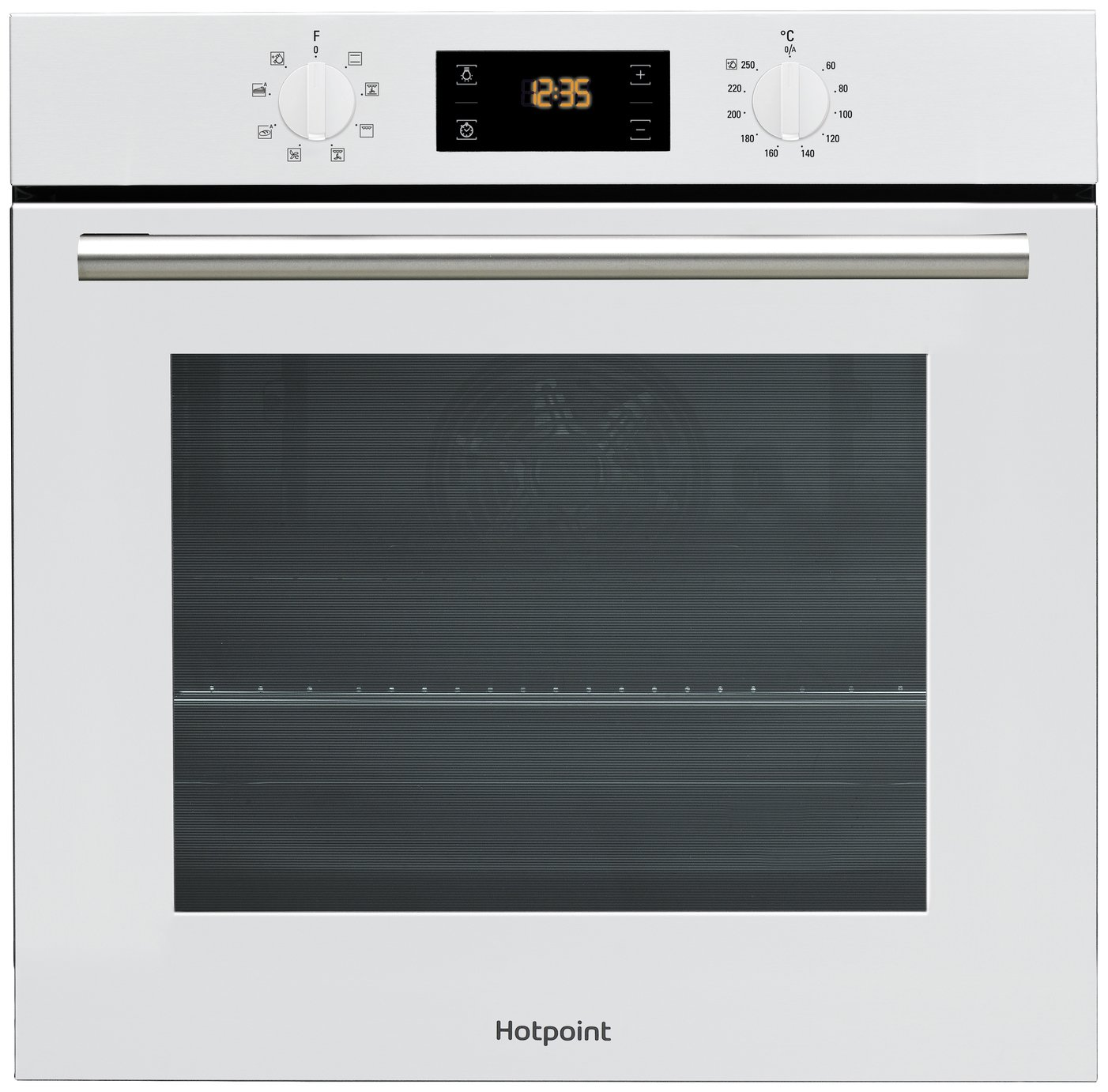 Hotpoint - SA2540HWH Electric Fan Oven - White from hotpoint