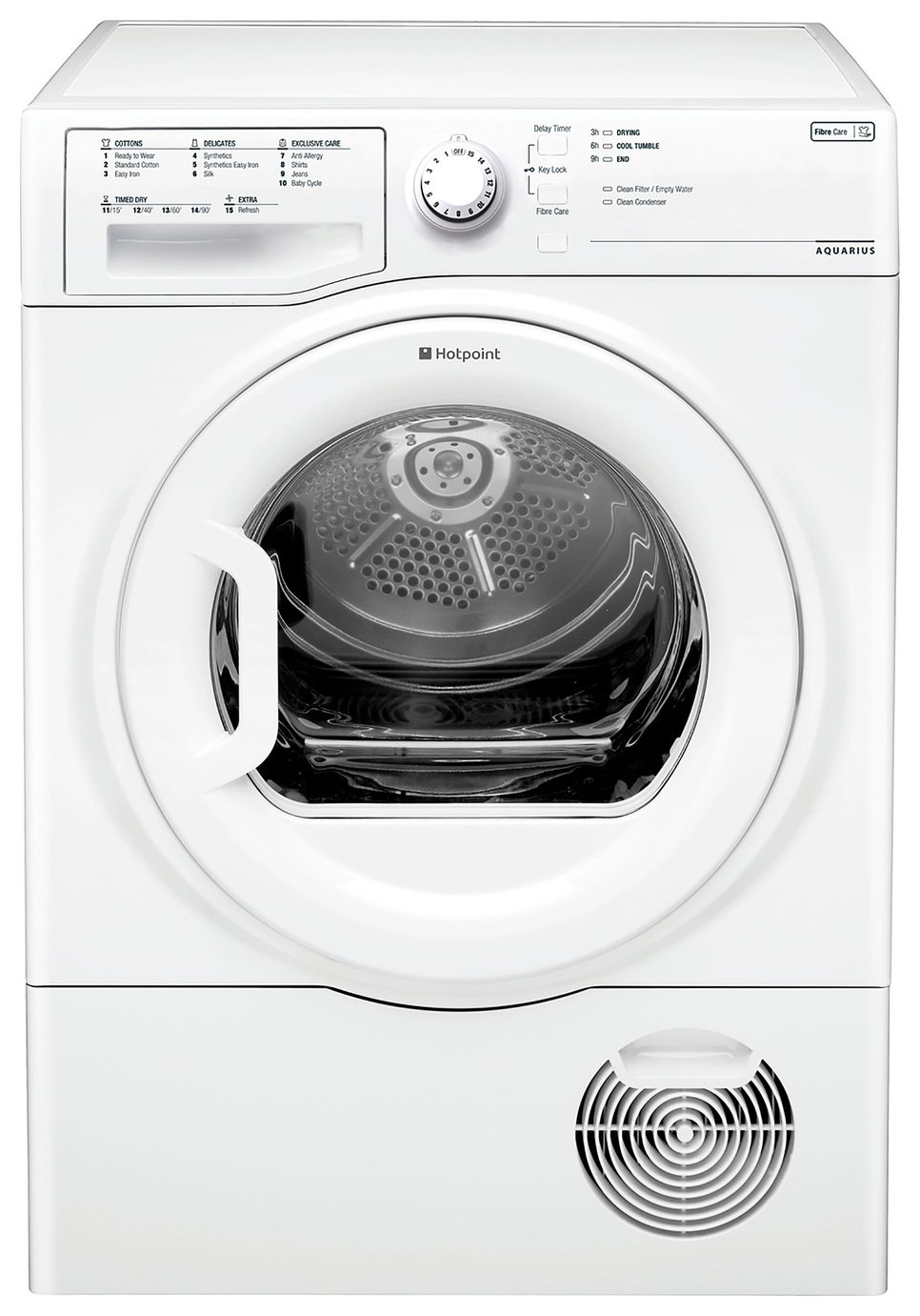Hotpoint TCFS73BGG 7KG Condenser Tumble Dryer - White from Hotpoint