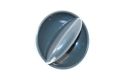 Hotpoint Washing Machine Silver Control Knob. Genuine part number C00202496 from Hotpoint