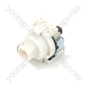 Indesit Washing Machine Drain Pump Assembly from Hotpoint