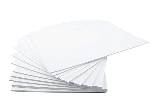 House of Card & Paper A4 220 gsm Card - White (Pack of 50 Sheets) from House of Card & Paper