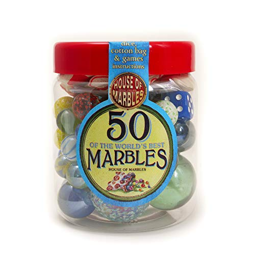 House of Marbles Tub of 50 Marbles from House of Marbles