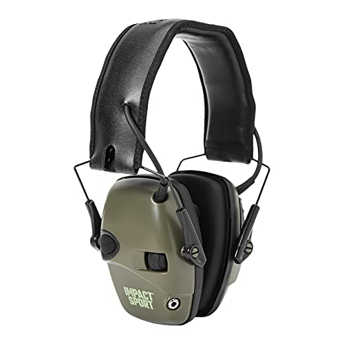 Honeywell 1013530 Howard Leight Impact Sport Earmuff, Green from Honeywell Howard Leight