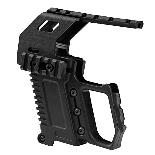 Huenco Tactical Glock Series Pistol Carbine Kit Quick Reload Guide Rail Base Loading Device for Glock G17 G18 G19 from Huenco