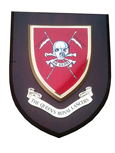 QRL Queens Royal Lancers Military Wall Plaque from Hunting and Military Store