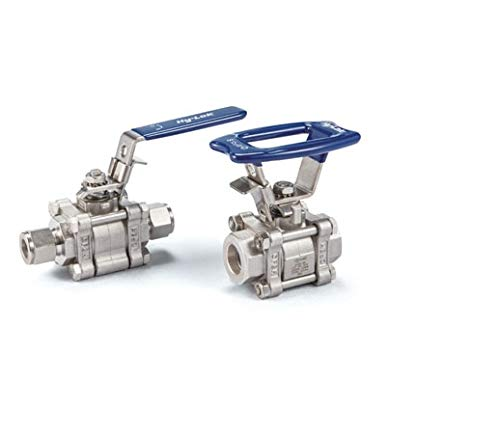 Hy-Lok SO1BZCR-44-RC-S316 2-Way Swing Out Straight Ball Valve from Hy-Lok