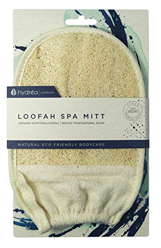 Hydrea London Organic Egyptian Loofah Exfoliating Glove from Hydrea London