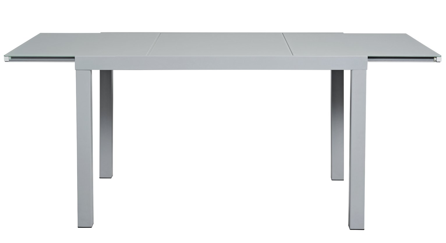 Hygena Anton Extendable Glass Table - Grey at Argos from Hygena