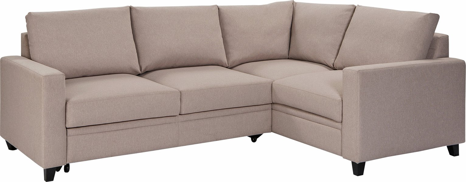 Argos Home - Seattle Regular Right Hand Corner Sofa Bed - Natural at Argos from Argos Home