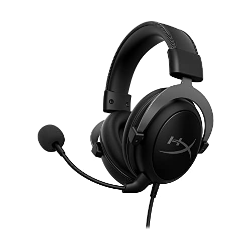 HyperX Cloud II 7.1 Virtual Surround Sound Computer Headset with Advanced USB Audio Control Box - Gunmetal from HyperX