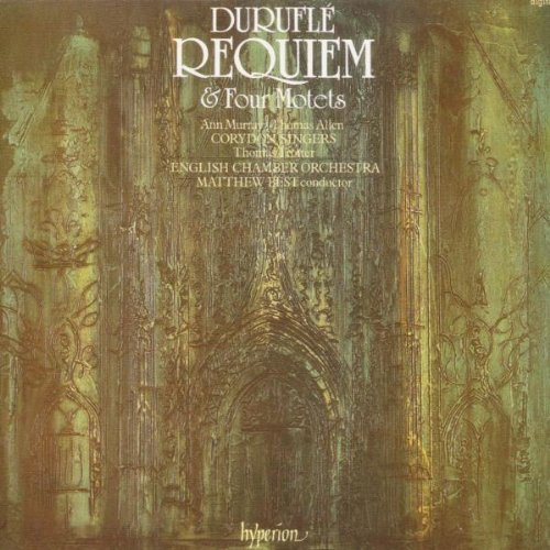 Durufl??: Requiem by Thomas Allen (1990-03-13) from Hyperion