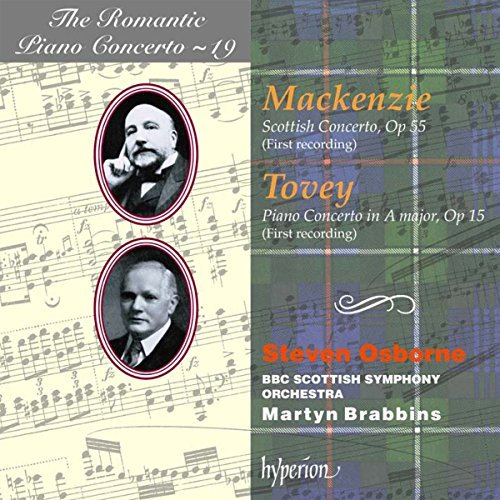 Mackenzie & Tovey: Piano Concertos by Stephen Coombs (1998-08-31) from Hyperion