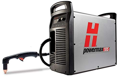 Hypertherm 059422 Series Powermax 105 Power Supply with CPC Port and Selectable Voltage Ratio, 75 Degree and 15 Degree Hand Torch, 400V, 7.6m Lead from Hypertherm