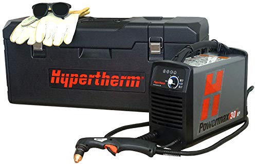 Hypertherm 088083 Series Powermax30 xP Power Supply with 4.5m Duramax Lt Torch Carry Case, Gloves and Shade 5 Glasses, 120-240V from Hypertherm