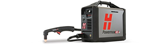 Hypertherm 088149 Series Powermax45 xP Power Supply with CPC Port and Voltage Divider with Remote Pendant, 180 Degree Full-Length Machine Torch, 400V, 10.6m Lead from Hypertherm