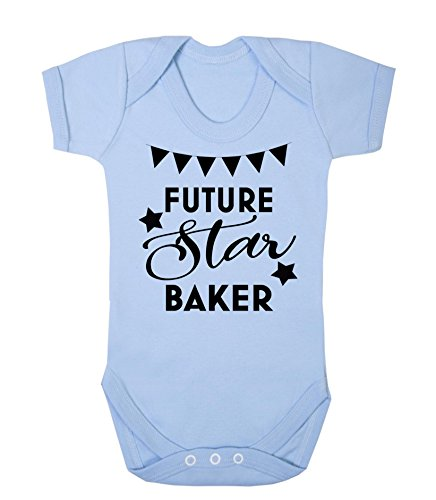 b0d6bb4c15f Future Star Baker Novelty Baby Vest Sleepsuit Babygrow Funny Bake Off Baby  Shower Gifts New Baby. found at Amazon Marketplace