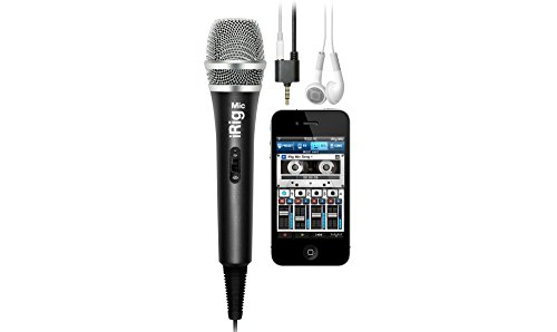 iRig Mic - Handheld microphone for iPhone, iPad and Android from IK Multimedia